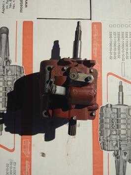 Коробка передач УАЗ 452 нового образца 35мм вал